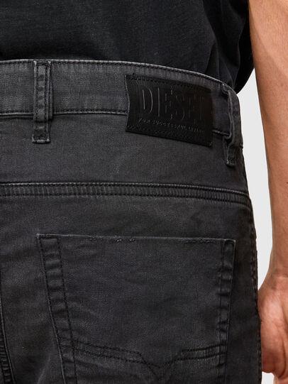 Diesel - KROOLEY JoggJeans® 069QL, Schwarz/Dunkelgrau - Jeans - Image 4