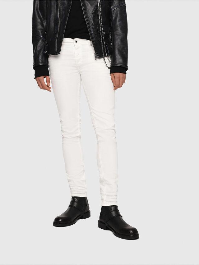 Diesel - Sleenker 084CY, Weiß - Jeans - Image 1