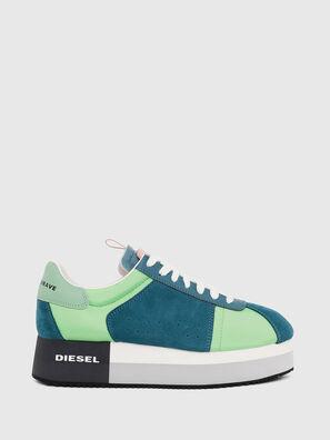 S-PYAVE WEDGE, Grün/Blau - Sneakers