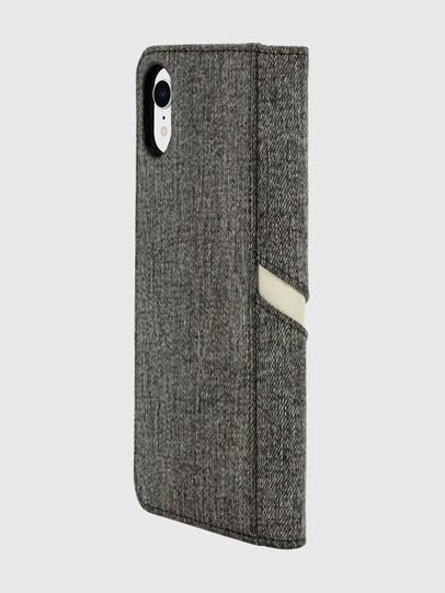 Diesel - DIESEL 2-IN-1 FOLIO CASE FOR IPHONE XR, Grau - Klappcover - Image 5