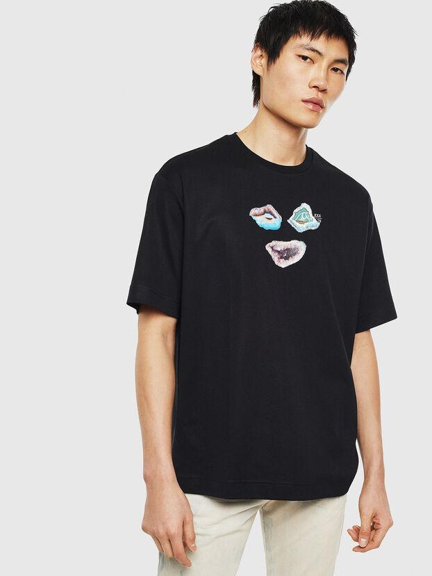 TEORIALE-A, Schwarz - T-Shirts