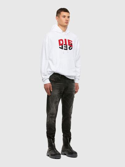 Diesel - S-GIRK-HOOD-N1, Weiß - Sweatshirts - Image 7