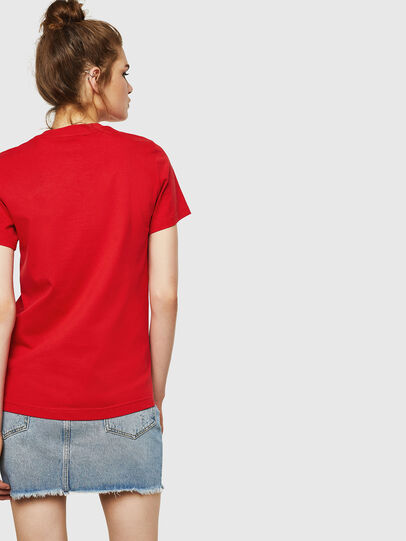Diesel - T-SILY-ZF, Feuerrot - T-Shirts - Image 2