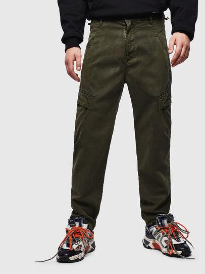 Diesel - D-Krett JoggJeans® 069LX, Armeegrün - Jeans - Image 1