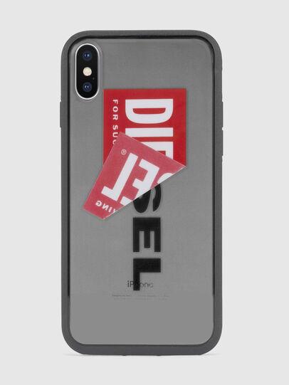 Diesel - STICKER IPHONE X CASE, Schwarz - Schutzhüllen - Image 2