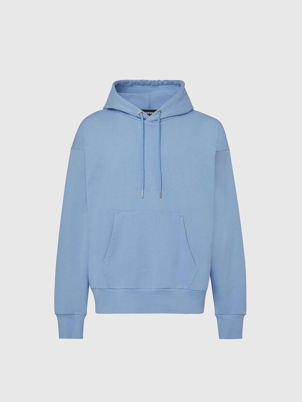 S-ALBY-COPY-J1, Azurblau - Sweatshirts