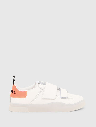 Diesel - S-CLEVER LOW STRAP W, Weiß/Rosa - Sneakers - Image 1