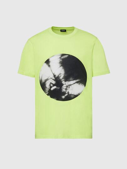 Diesel - T-MOONY-X2, Neongrün - T-Shirts - Image 1