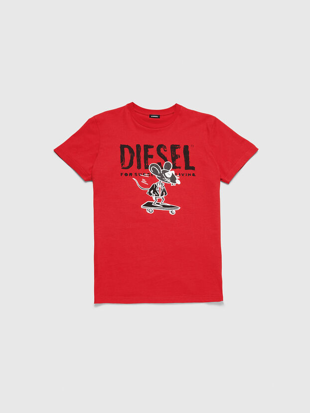 CL-T-DIEGO-1, Rot - T-Shirts