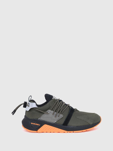 Sneaker ohne Verschluss aus Mesh-Gewebe und Lycra