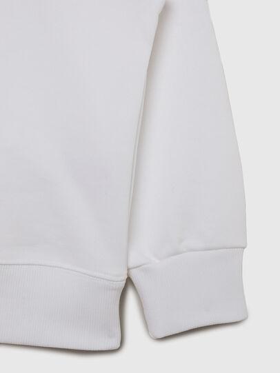 Diesel - SMUGD OVER, Weiß - Sweatshirts - Image 4