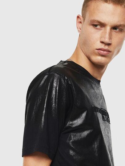 Diesel - T-JUST-J1, Schwarz - T-Shirts - Image 3