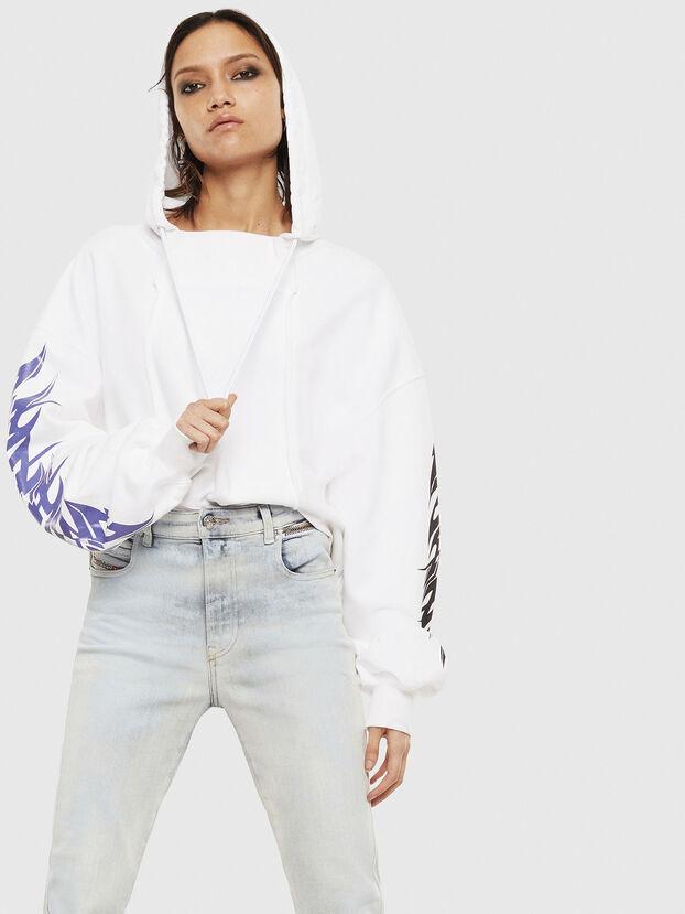 F-KREEN, Weiß - Sweatshirts