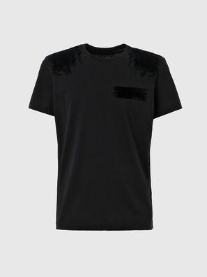T-IEGO-A, Schwarz - T-Shirts