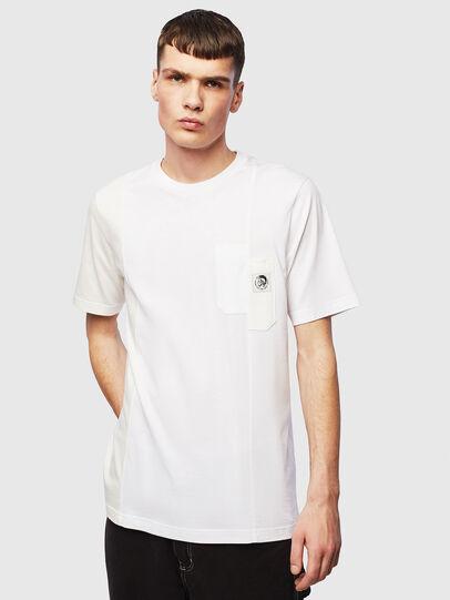 Diesel - T-RISEN, Weiß - T-Shirts - Image 1