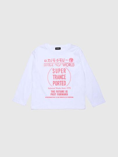 Diesel - TJACKYH ML, Weiß - T-Shirts und Tops - Image 1
