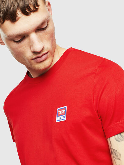 Diesel - T-DIEGO-DIV, Rot - T-Shirts - Image 3