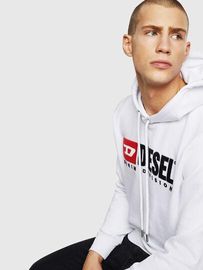 Diesel - S-GIR-HOOD-DIVISION, Weiß - Sweatshirts - Image 4