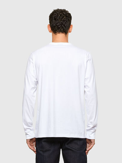 Diesel - T-JUST-LS-A1, Weiß - T-Shirts - Image 2