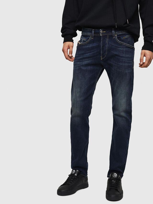 Diesel Belther 0814W, Dunkelblau - Jeans - Image 1