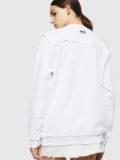 Diesel - F-LYANY-H, Weiß - Sweatshirts - Image 2