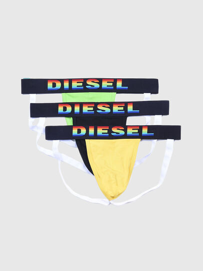 Diesel - UMBR-JOCKYTHREEPACK, Schwarz - Jockstraps - Image 1