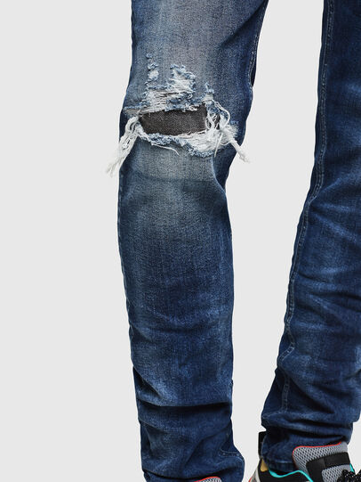 Diesel - Tepphar 0090G, Dunkelblau - Jeans - Image 5