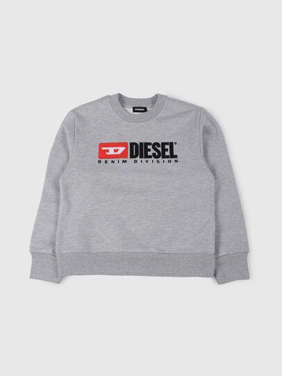 Diesel - SCREWDIVISION OVER, Grau - Sweatshirts - Image 1