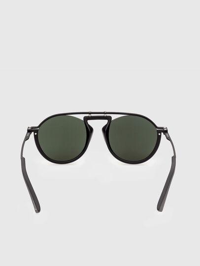 Diesel - DL0337, Schwarz - Sonnenbrille - Image 4
