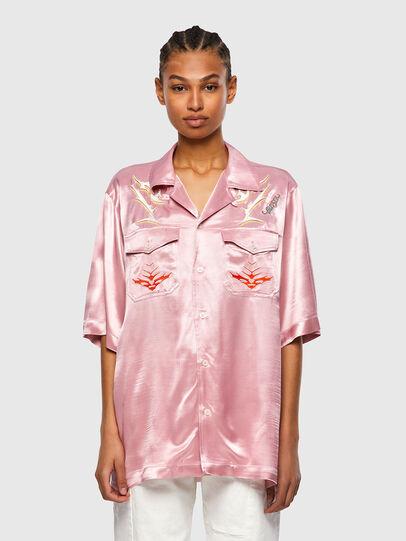 Diesel - S-MITCH, Rosa - Hemden - Image 2