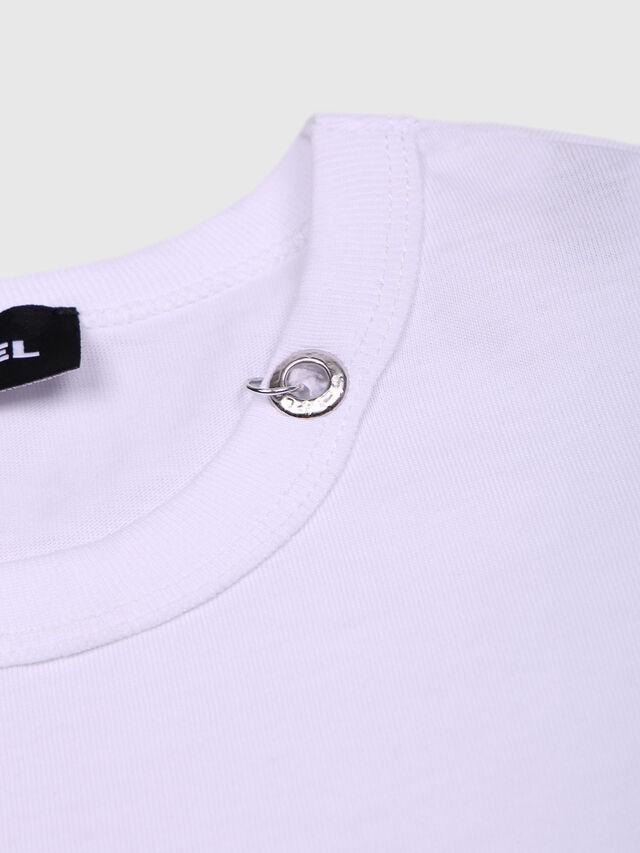 Diesel - TOCLE, Weiß - T-Shirts und Tops - Image 3