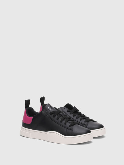 Diesel - S-CLEVER LOW LACE W, Schwarz/Rosa - Sneakers - Image 2