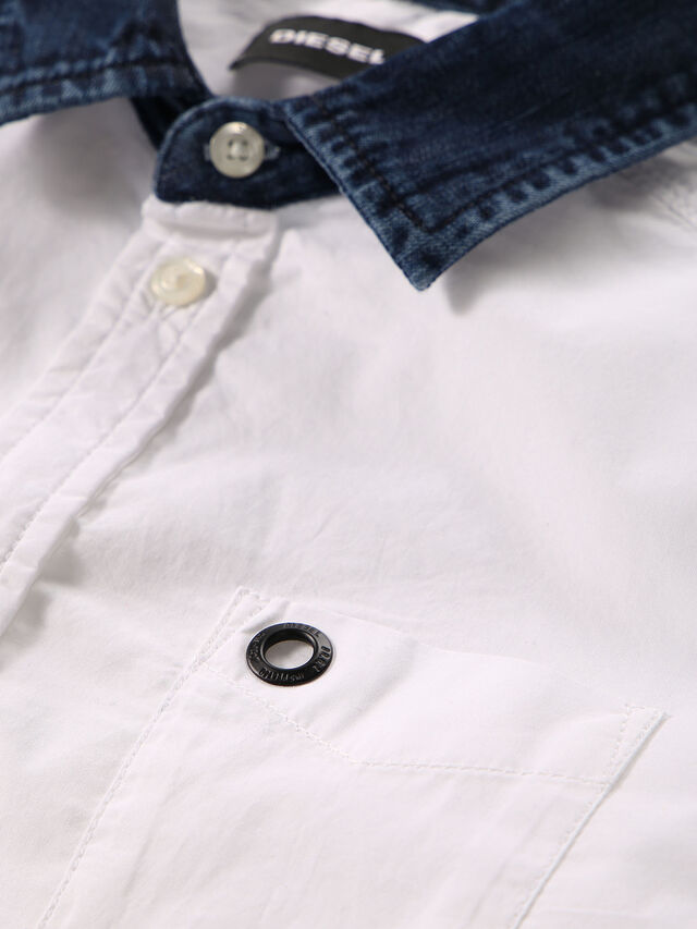 Diesel - CYMELDN, Weiß - Hemden - Image 3