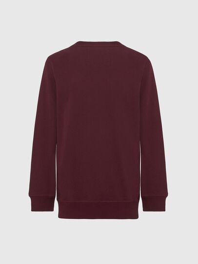 Diesel - UMLT-WILLY, Bordeauxrot - Sweatshirts - Image 2