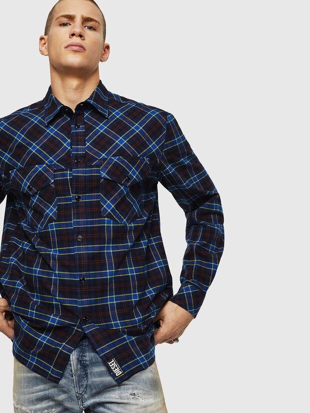 S-TOLSTOJ, Blau - Hemden
