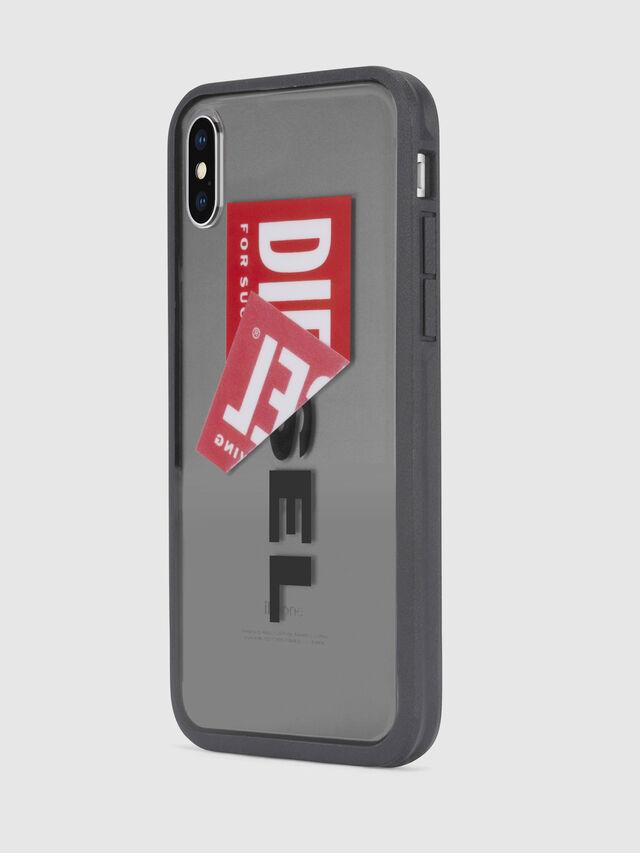 Diesel - STICKER IPHONE X CASE, Schwarz - Schutzhüllen - Image 3