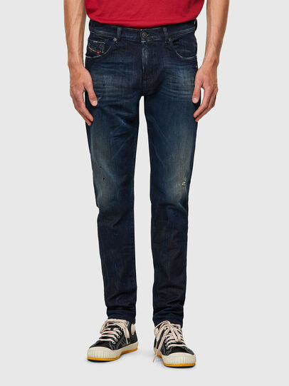 Diesel - D-Strukt JoggJeans® 09B50, Dunkelblau - Jeans - Image 1