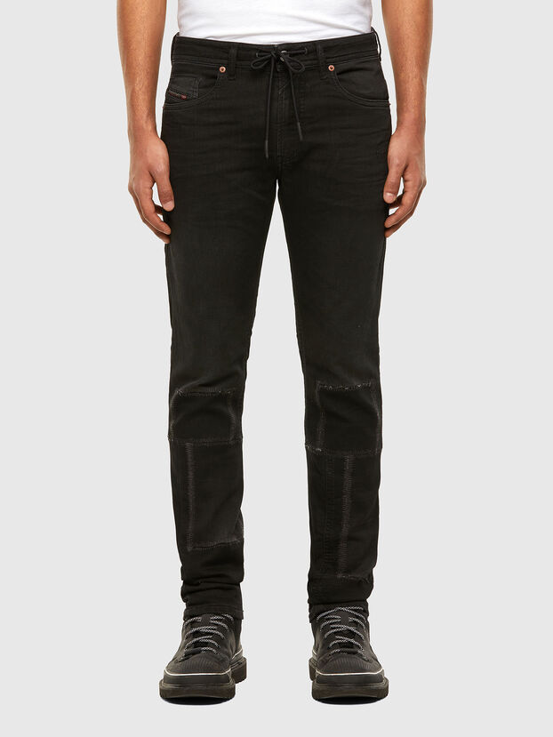 Thommer JoggJeans 009IC, Schwarz/Dunkelgrau - Jeans