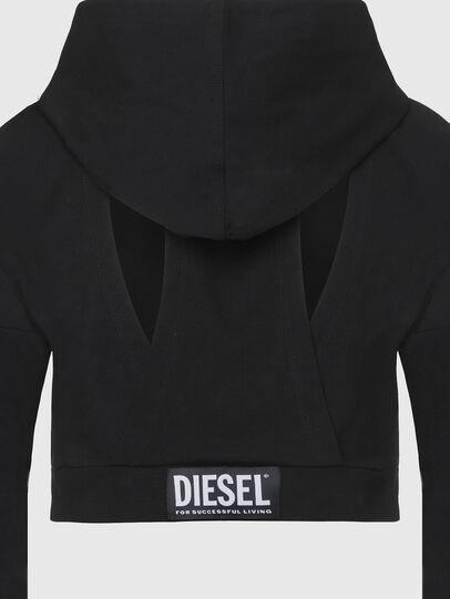 Diesel - UFLT-ANGHEL, Schwarz - Sweatshirts - Image 3