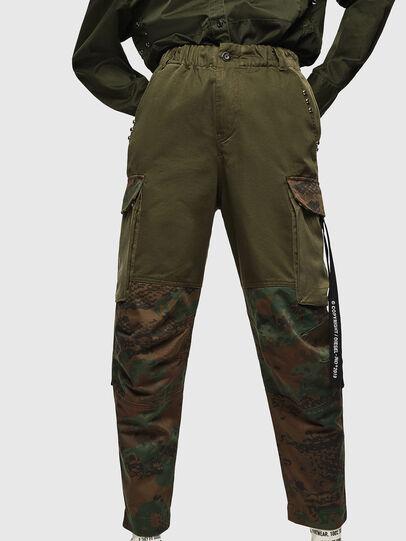 Diesel - P-THENA-A, Camouflagegrün - Hosen - Image 1
