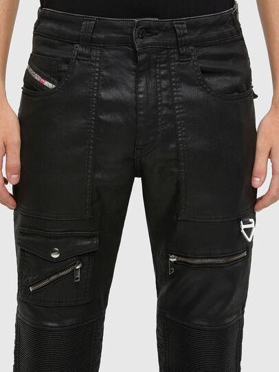Diesel - D-Derrot JoggJeans® 069QY, Schwarz/Dunkelgrau - Jeans - Image 3