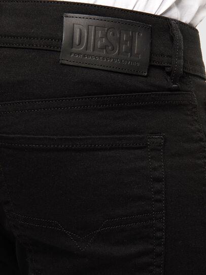 Diesel - Sleenker 069EI, Schwarz/Dunkelgrau - Jeans - Image 3