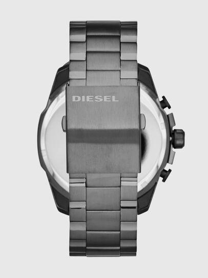 Diesel - DZ4329 MEGA CHIEF, Silber - Uhren - Image 3