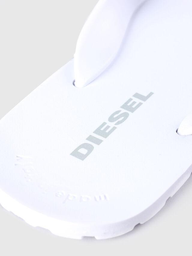 Diesel - SPLISH, Weiß - Pantoletten - Image 3