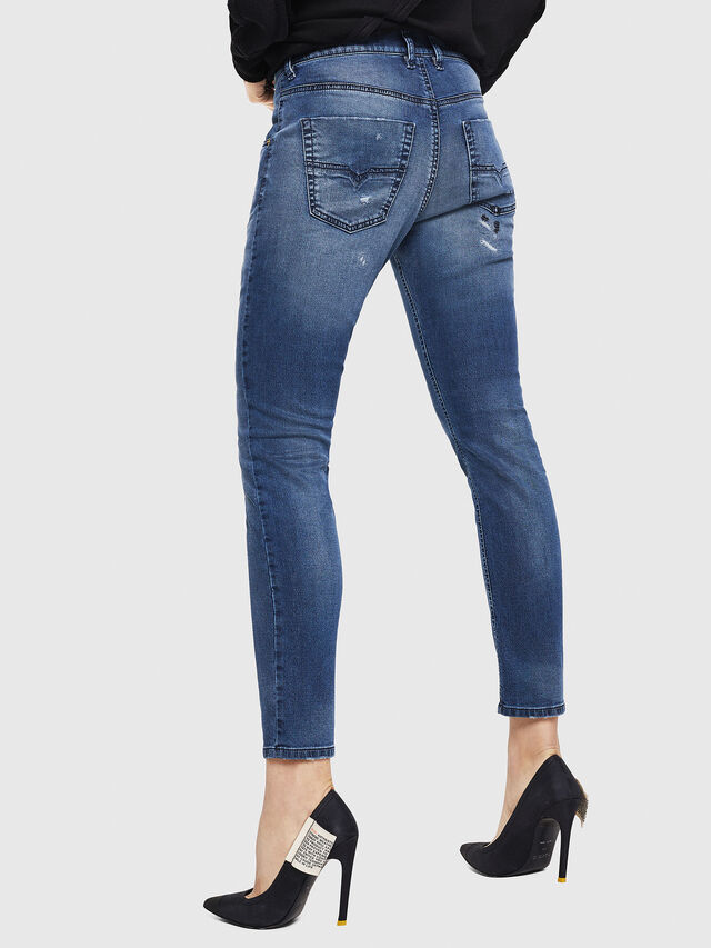 Diesel - Krailey JoggJeans 069HA, Mittelblau - Jeans - Image 2