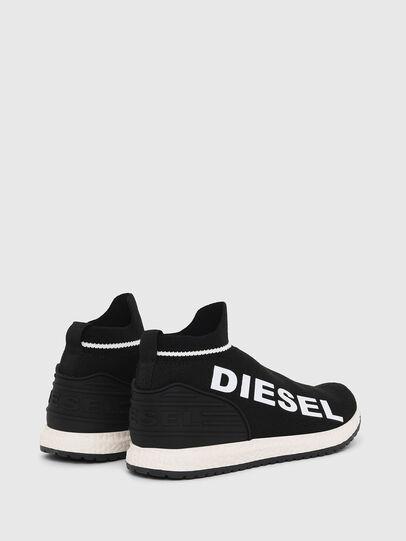 Diesel - SLIP ON 03 LOW SOCK, Schwarz - Schuhe - Image 2