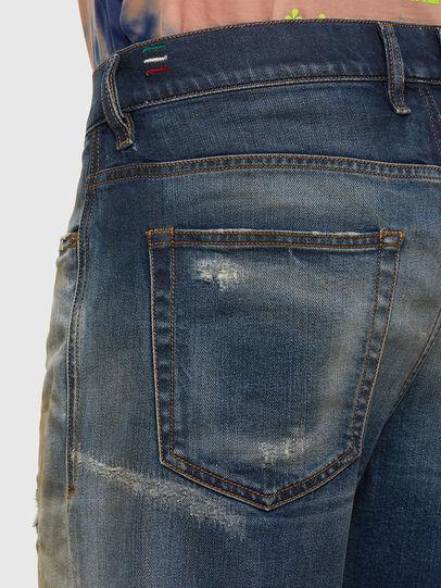 Diesel - D-Vider 009FR, Mittelblau - Jeans - Image 5