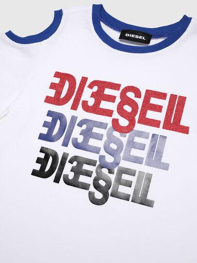 Diesel - TANIURAB-R, Weiß - T-Shirts und Tops - Image 3