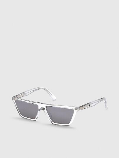 Diesel - DL0304, Weiß - Sonnenbrille - Image 2