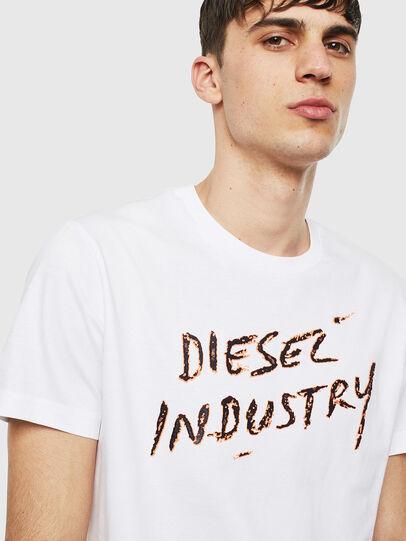Diesel - T-DIEGO-S15, Weiß - T-Shirts - Image 3